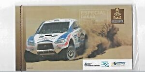 ARGENTINA 2011 RALLY DAKAR CARS RACE BOOKLET WITH 15 STAMPS MNH  BK