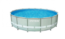 PISCINA TONDA ULTRAFRAME INTEX CM. 427X107H CON POMPA E ACCESSORI