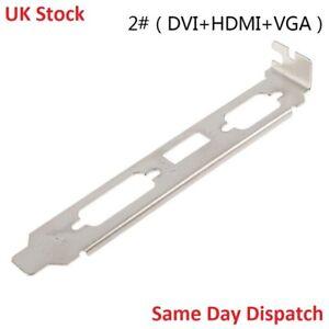 Full Profile Bracket HDMI & DVI and VGA Video Card High profile
