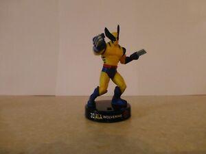 "Attacktix Marvel Action Figure ""Wolverine"" X Men - HTF Pose-able Figure"