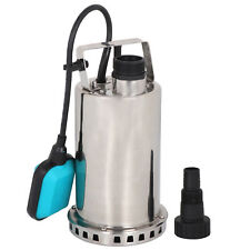 3000GPH 1HP Submersible Pump 750W Dirty Water Sump W/Automatic Float Switch