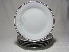 6 Noritake Malverne Dinner Plates 3501