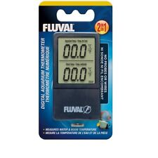 Fluval Digitales Fluval Digitales Thermometer für Terrarium, Aquarium 2-in-1
