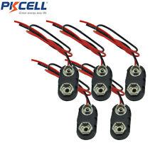 10pcs 9V Battery Case Box Holder I Type for 6F22 6LR61 9 Volt Cells PKCELL