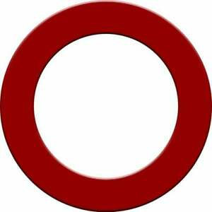 Designa Plain Dartboard Surrounds - Red