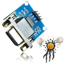MAX3232 RS232 UART seriell Adapter DB9 female 3.3-5.5V Null-Modem Konverter Modu