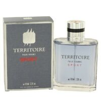 Territoire Pour Homme Sport by YZY 3.4 oz EDP Cologne for Men New In Box