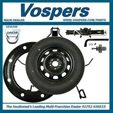 "Genuine Dacia Duster 2WD 2010 - 2015 Full Size 16"" Steel Spare Wheel Kit & Tyre"