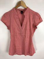 H&M Blusen Shirt, Größe 38, Rosa