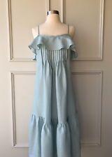 country road : frill pleat sun dress mint size: 10.12.14.16 new $179 S.M.L.XL