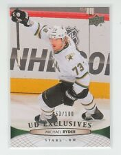 (63383) 2011-12 UPPER DECK EXCLUSIVES MICHAEL RYDER #396 (053/100)