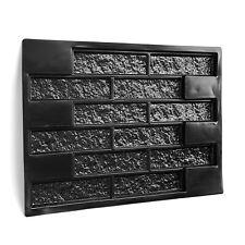 "Wall Maker Square Concrete Stepping Stone Paving Pavement Mold 26.8"" x 19"" x 1"""