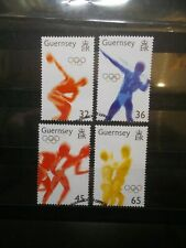 GB Guernsey 2004 Commemorative Stamps~Olympics~ Fine Used Set~UK Seller