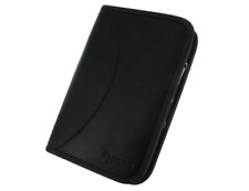 rooCASE Executive Leather Portfolio Case for Samsung Galaxy Tab P1000 (Black)