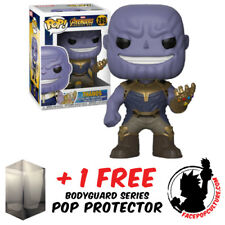 FUNKO POP MARVEL AVENGERS 3 INFINTY WAR THANOS VINYL FIGURE + FREE POP PROTECTOR