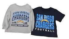 San Diego Chargers Official NFL Apparel Infant Toddler Size 2 Shirt Combo Set