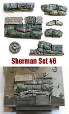 1/35 échelle résine sherman Réservoir Moteur Pont et arrimage séries # 6