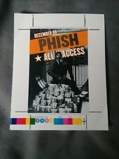 Rare Phish Concert backstage pass December 99 all access music vip
