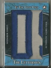 2017-18 In The Game Used The Lettermen Larry Robinson Jersey Name Patch #ed 1/ 1