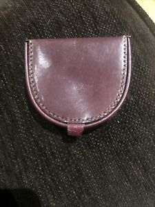 Tocati Brown Leather Coin Purse