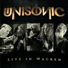 Unisonic Live in Wacken CD DVD (region ) 2017