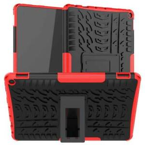 """For Amazon Fire HD 10 Plus 11th Gen 2021 10.1"""" Rugged Rubber Stand Case Cover"""