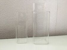 Set Of Wall Hanging Glass Vase Small And Large/home/planter/succulent/cactus