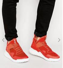 Adidas Tubular X Mens Hi Top Shoes Sneakers 10.5 Collegiate Red/White S77842 EUC