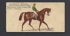KINNEY - FAMOUS RUNNING HORSES (ENGLISH) - BLAIR ATHOL