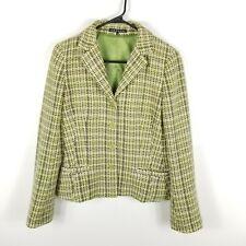 Theory  Women Barrie  Jacket  Tweed Cash Combo Wool Angora 8