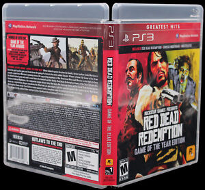 Red Dead Redemption PS3 PlayStation 3 Replacement Game Case & Cover Art No GAME
