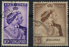 Multiple Singapore Stamps (1824-1963)