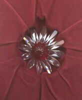 Swarovski SCS Annual CRYSTAL DAISY FLOWER RED Marguerite Figurine Cake Topper