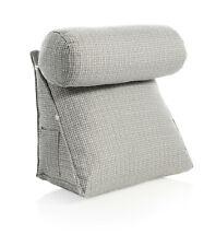 Rückenkissen mit abnehmbarer Nackenrolle Rückenstützkissen Kissen Rückenlehne
