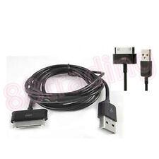 2 x USB Sync transferencia de datos Cable Para Samsung Galaxy Tab 10.1 P7500 8.9 P7300