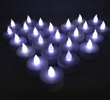 New White Flickering 36 Flicker Light Flameless Led Tealight Tea Candles