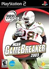 NCAA GameBreaker 2003 (Sony PlayStation 2, 2002)