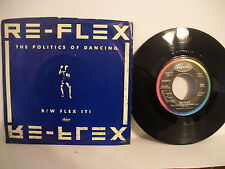 Re-Flex, The Politics of Dancing / Flex It!, 1983, Capitol Records, B-5301