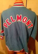 1950s Vintage Fleece Basketball zippered top Belmont High school Dayton 10