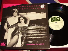 """12""""  DUNCAN BROWNE - the wild places  LOGO RECORDS 1978"""