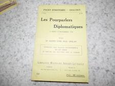 1915.Pages d'histoire 51.Le second livre bleu anglais.turquie.14-18.
