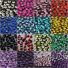 1000 4.5mm 1/3ct Diamond Table Confetti Wedding Party Crystals Rhinestone Decor
