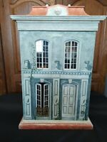 RARE SIGNED ERIC LANSDOWN  DOLLHOUSE #15  CABINET 1:12 SCALE, ONE OF A KIND BIG