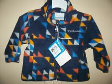 New COLUMBIA Fleece JACKET  Infant Boy Size 6 M *Zing Fleece $40
