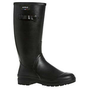 Aigle Womens Boots Cessac Lady Casual Pull-On Wellington Calf Length Rubber