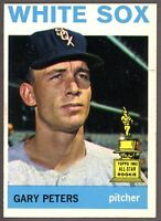 1964 Topps Baseball #130 Gary Peters Chicago White Sox - SBID004