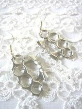 Handmade Crystal Silver Plated Fashion Earrings