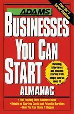 The Adams Businesses You Can Start Almanac, Jones, Katina, Good Book