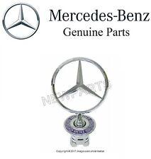 GENUINE MERCEDES Front Hood Chrome Star Emblem Badge Sign Logo 1994-2006 E CLAss