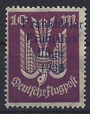 574# DR Halbamtliche Flugmarke IIa** mit Preivatdruck Frankfurter Flüge 1925